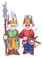 Janissaries by Qsy-and-Acchan