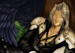 Sleeping Sephiroth by AkiraxCMXC