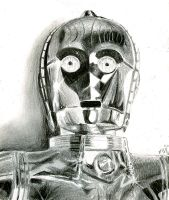 C3PO sketch 2 by bamboleo