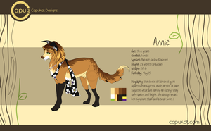 CLOSED- Annie Character Auction by Capukat