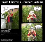 TF2 Sniper cosplay costume by Snakerokz