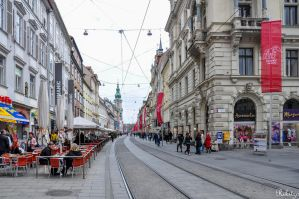 Graz View Saturday afternoon in red - update by Rikitza