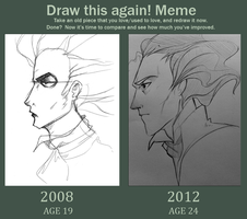 Draw this again! Meme by Nina-Serena