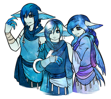 Alsius siblings by nocturnefox