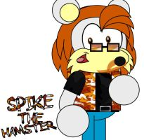 Spike The Hamster by AshleyWolf259