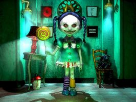 The Lollipop Girl. by githos