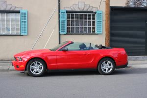 Mustang drop top by 914four