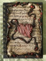 Journal Cover *Love letter* by SensiArts