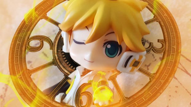 Len - Time Yellow Fire Power (1920x1080) by ng9