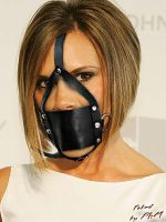 Victoria-Beckham gagged by PhM 008a by PhMBond