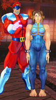 Chun Li joins Shadaloo by thatfigsguy