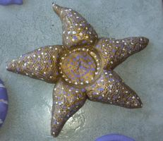 Starfish Candle Holder by KitWolfren