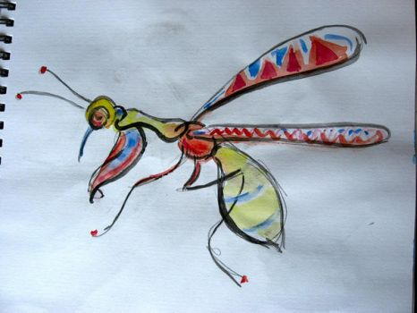Insect Design1 by yes-im-weird