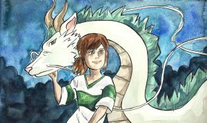 Spirited Away by Sacari