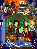 Doctor Who Series 5 Poster by CPD-91