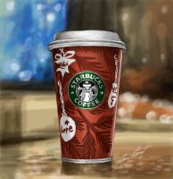 Starbucks Cup by fatboy210