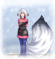 .Winter. by LadyKyuuketsuki