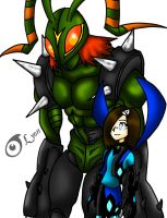 STINGMON and I- Persona 2 by DrChillRoach