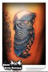 Owl Tattoo by carlroycarino