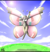 Vivillon Anthro by oldanthropokemon