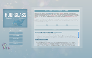 Hourglass v7 Sleek by newbiecolourer