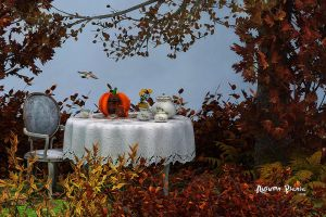 Autumn Picnic by Dani3D