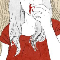 bleeding by laFada