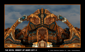 the royal armory of Sigma Ceti VI by fraterchaos