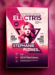Electro Poster Template Vol. 9 by IndieGround
