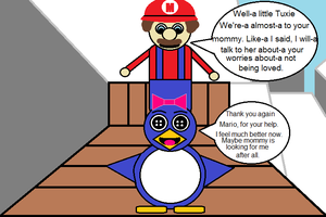 Mario 64 Baby Penguin (in a different light) 13 by CJO1234