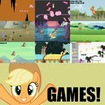 MLP:FiM Season 3 Minigame Project by sparklepeep
