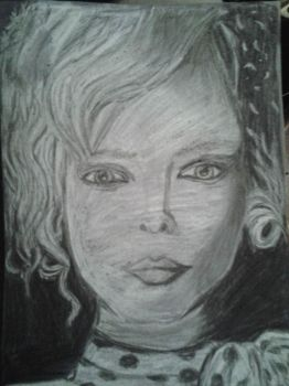 Charcoal Woman by RebeccaAH