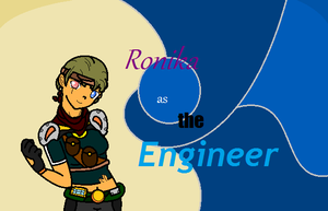 Ronika as the Engineer by Dysartist