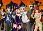 Happy Halloween Fairy Tail - Concurso NORMA Ed by Timagirl
