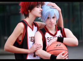 Kuroko no Basket - us againt the world by NanjoKoji