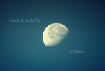 .:To the moon and back:. by bogdanici