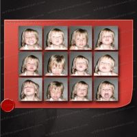 Girls expressions by M10tje - High Quality by M10tje