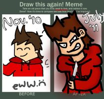 DRAW IT AGAIN: TORD by coolgaltw
