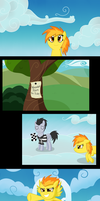 How spitfire became a wonderbolt by wildberry-poptart