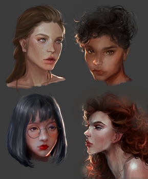 Faces from Yesterday by b1tterRabbit