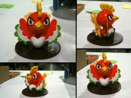 Chibi Ho-Oh Sculpey