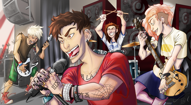 those who are about to rock by Katsuomangaka