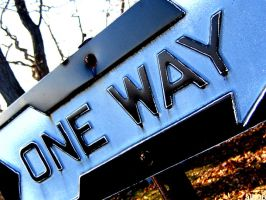 one way by CiRcUsSpiDeR