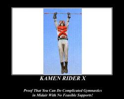 Proof of Kamen Rider X by NeonGenesisGuyverIII