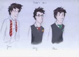 Potter's Sons by ThroughMyThoughts