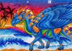 ACEO- Summer Dreams by Sky-Shifter