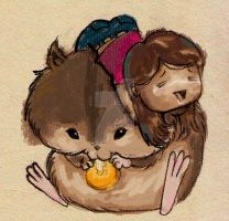 hamster love by bachinienie