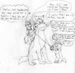 Chester and Roxy messing with Charson (UF collab) by Charbunstar