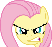 Fluttershy Angry by JaaRyX13
