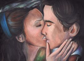 TVD: Damon and Katherine by Aleatoire09